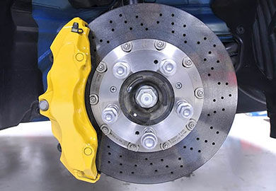 Brakes, Suspension & Steering Be in control with reliable brakes and suspension parts.